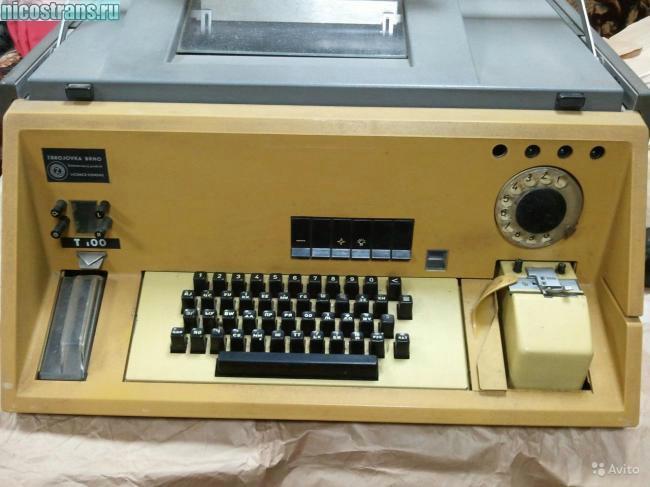 телеграфный аппарат РТА-80
